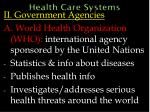 health care systems43