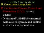 health care systems46