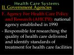 health care systems48