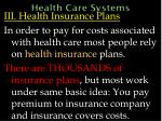 health care systems51