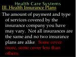 health care systems52