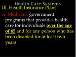 health care systems56