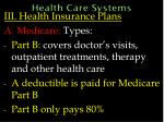 health care systems58