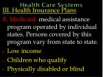 health care systems59