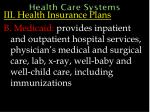 health care systems60