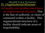 health care systems63
