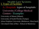 health care systems9
