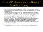 crisis of professionalism in nursing powell and young