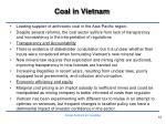 coal in vietnam