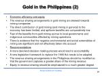 gold in the philippines 2