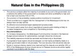 natural gas in the philippines 2