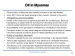 oil in myanmar
