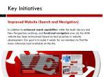 key initiatives1