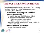 medical registration process