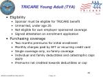 tricare young adult tya1