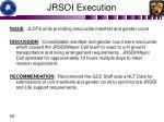 jrsoi execution