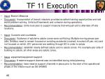 tf 11 execution5