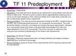 tf 11 predeployment1