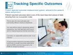 tracking specific outcomes