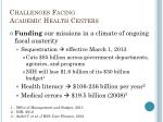 challenges facing academic health centers2