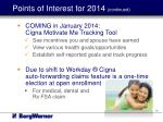 points of interest for 2014 continued2