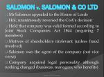 salomon v salomon co ltd