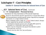 subchapter f cost principles subtitle vi general provisions for selected items of cost1
