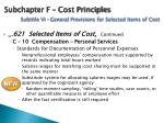 subchapter f cost principles subtitle vi general provisions for selected items of cost2