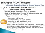 subchapter f cost principles subtitle vi general provisions for selected items of cost3