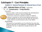 subchapter f cost principles subtitle vi general provisions for selected items of cost4