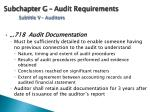 subchapter g audit requirements subtitle v auditors2