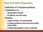 historical bank regulation1