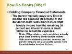 how do banks differ15