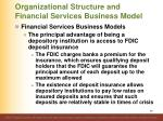 organizational structure and financial services business model2
