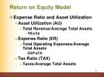 return on equity model2