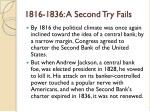 1816 1836 a second try fails