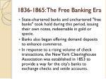 1836 1865 the free banking era