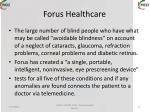 forus healthcare