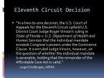 eleventh circuit decision