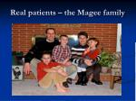 real patients the magee family