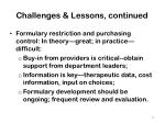 challenges lessons continued2