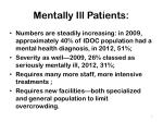 mentally ill patients