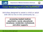 case management cm definition