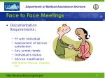 face to face meetings1