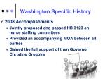 washington specific history1