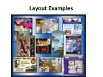 layout examples