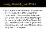 salary benefits and perks