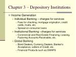 chapter 3 depository institutions6