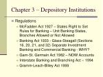 chapter 3 depository institutions9
