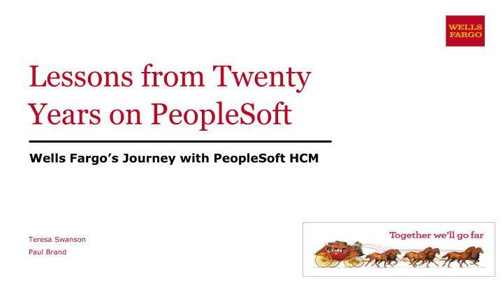 lessons from twenty years on peoplesoft n.